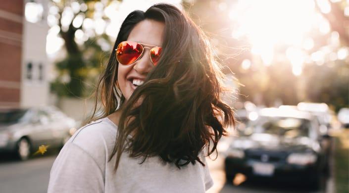 Maquilhagem perfeita oculos