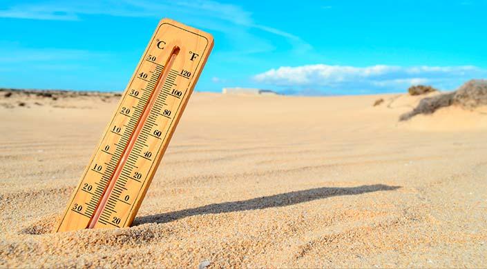 mudancas climaticas termometro
