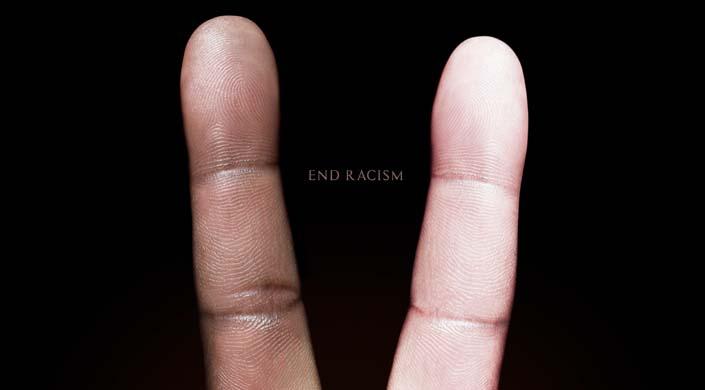 racismo dedos