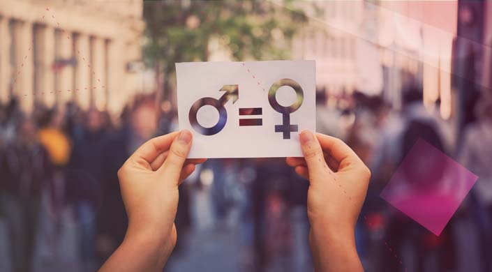 igualdade femenina sexos